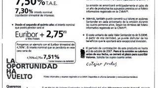 Crisis de Valores...Santander