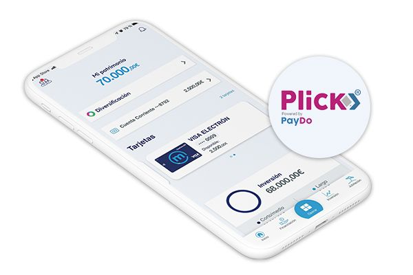 Banco Mediolanum incorpora Plick, un servicio pionero para enviar hasta 30.000 € desde el móvil